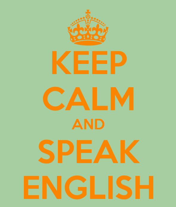 CLIP vacances : keep calm and speak english